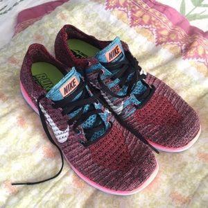 Nike Free RN Flyknit, Size 10.5
